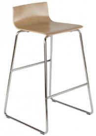 Бар стол CAFÉ VII hocker chrome