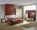 Проектиране на спалня с ъглов гардероб четирикрилен