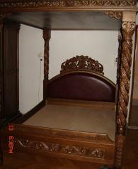 Дизайнерска спалня от масив