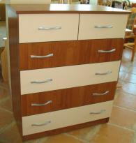 Скрин с 4 големи и 2 малки чекмеджета