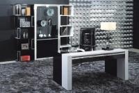 Стилен офис стол 72/60/114см
